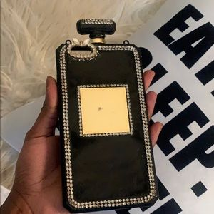 Luxury perfume bottle iPhone case
